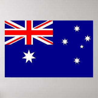 Impresión capítulo con la bandera de Australia