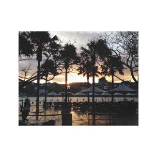 Impresión circular de Sydney Quay