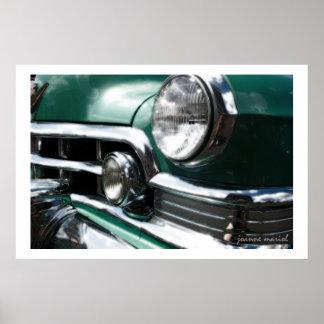 Impresión clásica del poster del coche 114