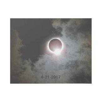 Impresión Con Bastidor Eclipse solar 21 de agosto de 2017
