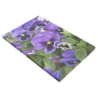 Impresión Con Bastidor pensamientos púrpuras