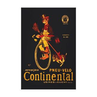 Impresión continental de la lona de la reedición 3 lona estirada galerias