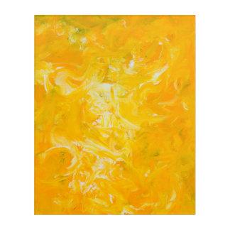 Impresión de acrílico del expresionista abstracto