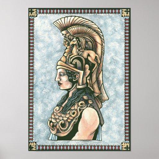 Impresión de Athena Poster