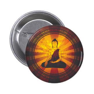 Impresión de Buda del vintage Pin