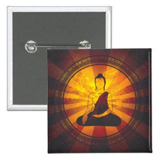 Impresión de Buda del vintage Pins
