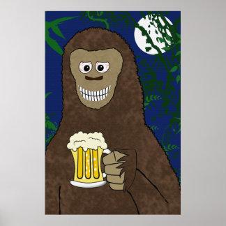 Impresión de Drinkin Bigfoot