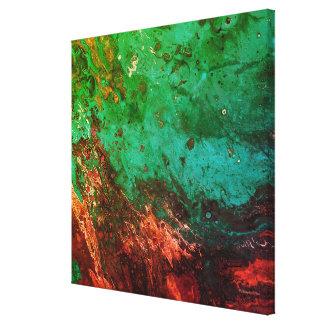 Impresión de encargo de la lona de arte abstracto
