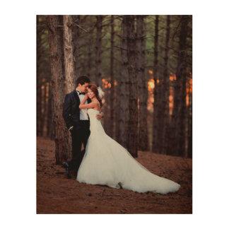 Impresión de encargo del arte de la foto del boda
