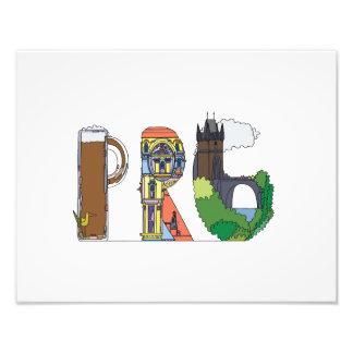 Impresión de encargo el | PRAGA, CZ (PRG) Impresiones Fotográficas