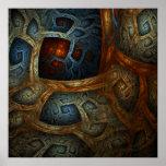 """Impresión de la bella arte de los """"mundos enclaust impresiones"""