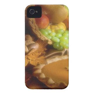 Impresión de la cena del banquete del otoño de la Case-Mate iPhone 4 fundas