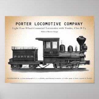Impresión de la clase B-T4 de H K Porter
