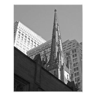 IMPRESIÓN de la FOTO de la iglesia de la trinidad