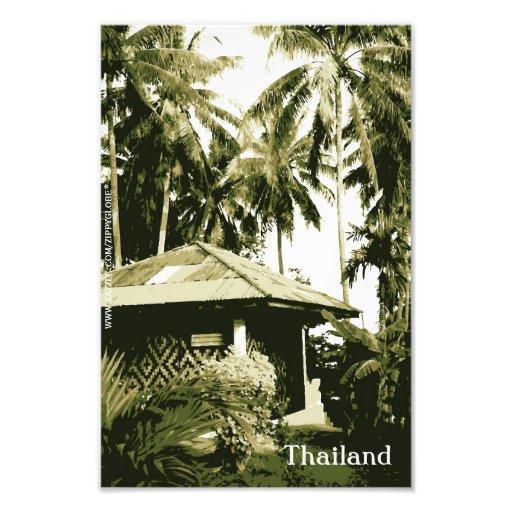 Impresión de la foto de Tailandia