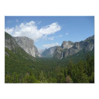 Impresión de la foto de Yosemite del punto de la i