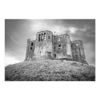 Impresión de la foto del castillo de Warkworth