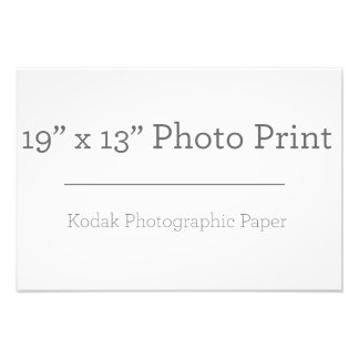 Impresión de la foto del personalizado 19 x 13