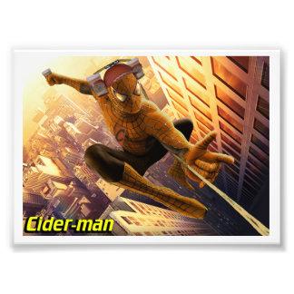 impresión de la foto del Sidra-man