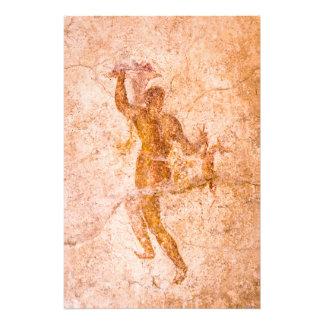 Impresión de la foto - fresco romano, Pompeya