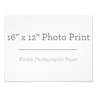 Impresión de la foto X12 del personalizado 16