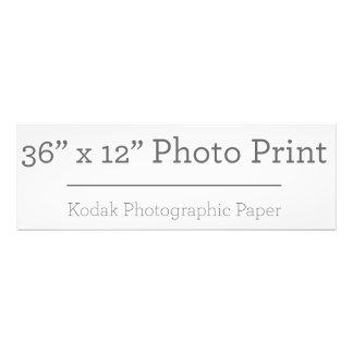 Impresión de la foto X12 del personalizado 36