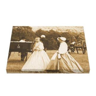 Impresión de la guerra civil en lona impresión en lienzo estirada
