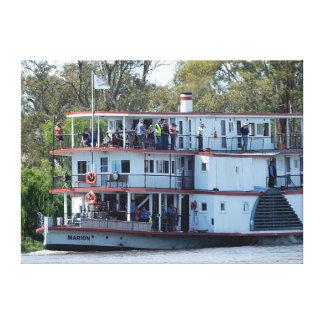 Impresión de la lona - barca