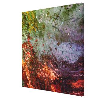 Impresión de la lona de arte abstracto de la