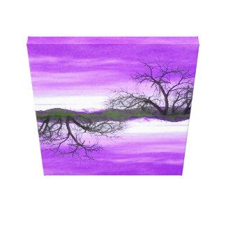 Impresión de la lona de El Abuelo Del Cielo Purple Impresiones De Lienzo