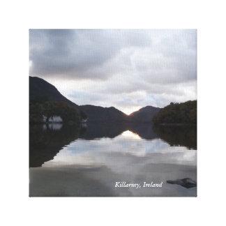 Impresión de la lona de Killarney, Irlanda