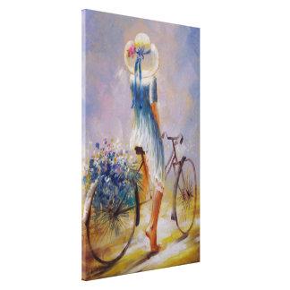 Impresión de la lona de la bicicleta impresión en lona