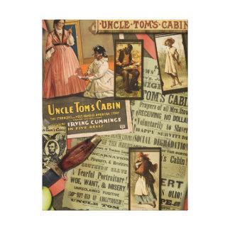 Impresión de la lona de la cabina de tío Tom del Impresiones De Lienzo