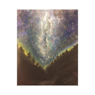 Impresión de la lona de la noche estrellada