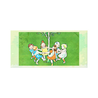 Impresión de la lona de los niños del baile -