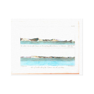 """Impresión de la lona """"de un viaje a los mares del"""