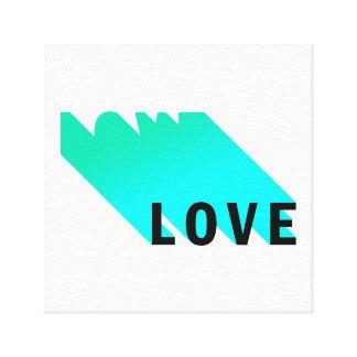 Impresión de la lona del amor