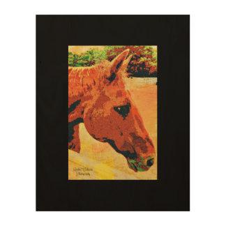 Impresión de la lona del caballo