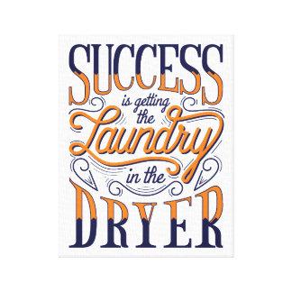 Impresión de la lona del éxito del lavadero