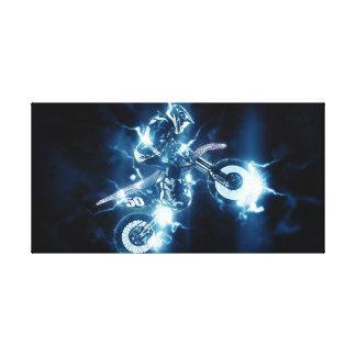Impresión de la lona del motocrós