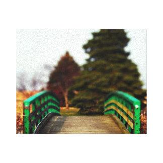 Impresión de la lona del puente de las naturalezas lona estirada galerias