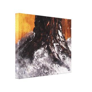 Impresión de la lona del tronco de Wintertree Impresion En Lona
