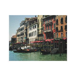 Impresión de la lona - Gran Canal de Venecia