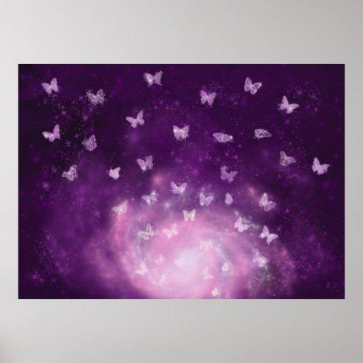 Impresión de la nebulosa de la mariposa impresiones de Zazzle.
