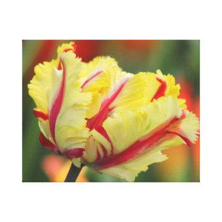 Impresión de la pared de la lona del tulipán de la