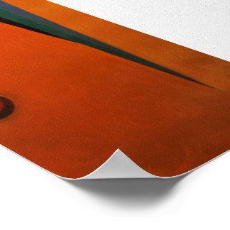 Impresión de la pintura al óleo del extracto 1