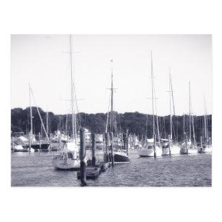 Impresión de la postal de Rhode Island BW del