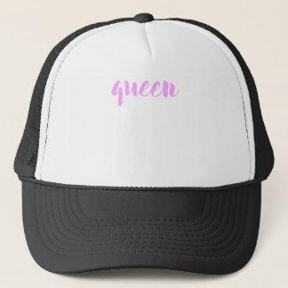 Impresión de la reina gorra de camionero