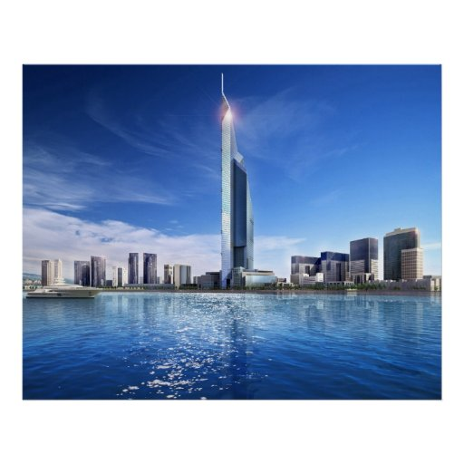 Impresión de la torre de Dubai Impresiones