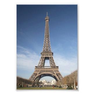 Impresión de la torre Eiffel Arte Fotográfico